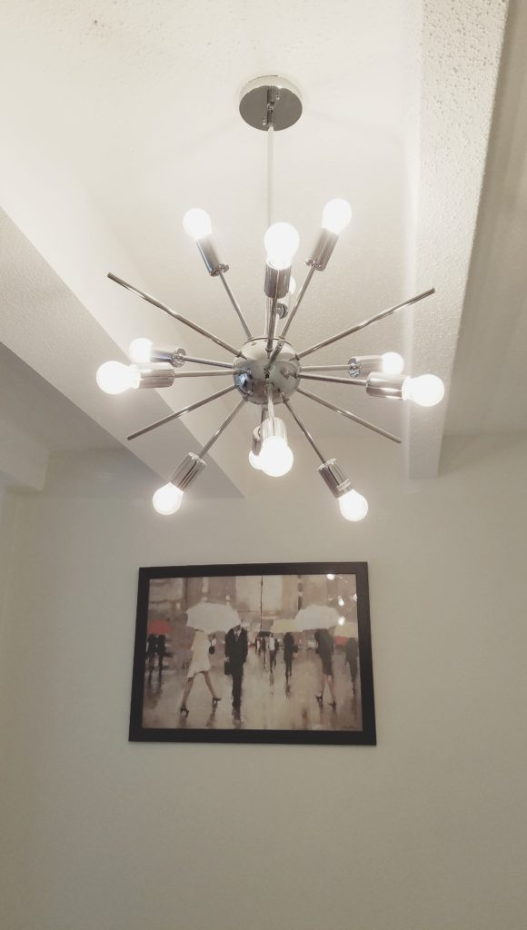 Dimmable-LED Fixtures Mid-Century Style