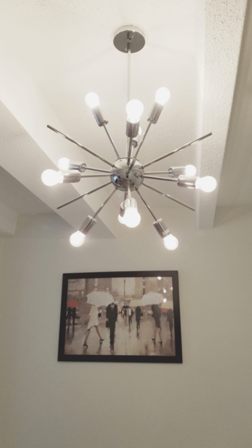 The Kira'smodern light fixture.