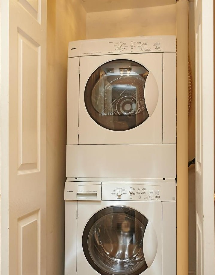 The Pat's washer and dryer